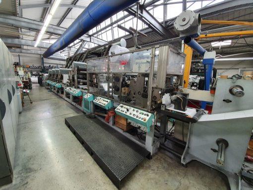 Omet Multiflex LB 420 FLUV 5 colours Flexo printing machine